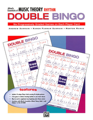 Essentials of Music Theory, Rhythm Double Bingo Game   -