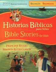 Historias Bíblicas para Niños - Bilingüe  (Bible Stories for Kids - Bilingual)  -     By: Francine Rivers, Shannon Rivers Coibion