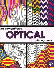 Modern Patterns: Optical Coloring Book   -