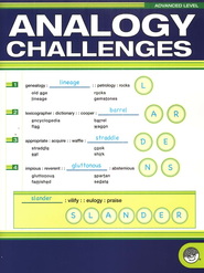 Analogy Challenges: Advanced Level   -