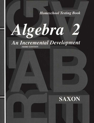 Algebra 2 Test Forms, 3rd Edition  - Slightly Imperfect  -