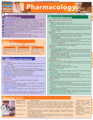 Pharmacology Chart   -