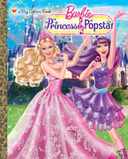 Princess and the Popstar Big Golden Book (Barbie) - eBook  -     By: Kristen L. Depken     Illustrated By: Golden Books