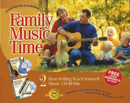 Family Music Time: Learn Guitar & Harmonica CD-ROM Set   -