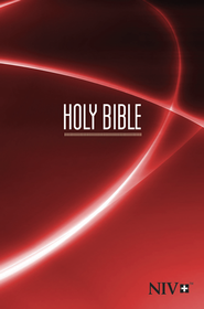 NIV Compact Bible, Red  -