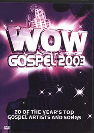 WOW Gospel 2003, DVD   -