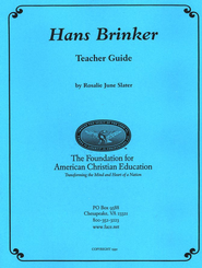 Syllabus For Hans Brinker   -