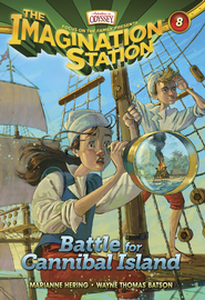 Adventures in Odyssey The Imagination Station® Series #8: Battle for Cannibal Island eBook  -     By: Marianne Hering, Wayne Batson