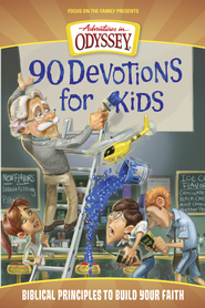 Adventures in Odyssey® 90 Devotions for Kids eBook  -     By: AIO Team