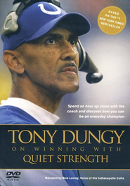 Quiet Strength DVD  -     By: Tony Dungy, Nathan Whitaker