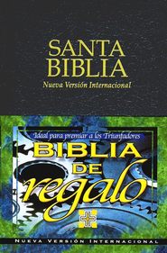 Biblia de Premio y Regalo NVI, Piel Imitada, Negra  (NIV Gifts & Awards Bible, Imitation Leather, Black)  -