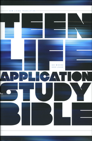NLT Teen Life Application Study Bible, Hardcover  -