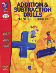 Addition & Subtraction Drills Gr. 1-3 - PDF Download  [Download] -