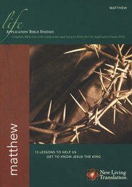 Matthew: NLT Life Application Bible Studies  -
