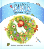 My Story Bible: 66 Favorite Stories  -     By: Jan Godfrey     Illustrated By: Paola Bertolini Grudina