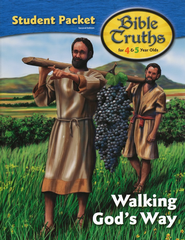 BJU K4 Bible Truths Student Activity Packet (Second Edition)    -