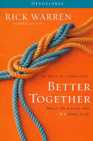 Better Together, Devotional Journal, Softcover  -     By: Rick Warren