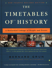 The Timetables of History, New 4th Revised Edition A Horizontal Linkage of People & Events  -     By: Bernard Grun