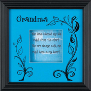 Grandma, You Have Blessed My Life Shadowbox  -