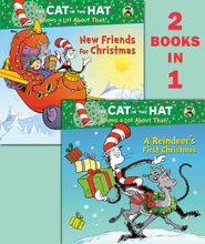 A Reindeer's First Christmas/New Friends for Christmas (Dr. Seuss/Cat in the Hat) - eBook  -     By: Tish Rabe     Illustrated By: Joe Mathieu, Aristides Ruiz