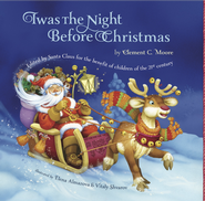 Twas The Night Before Christmas - eBook  -     By: Clement C. Moore     Illustrated By: Elena Almazova, Vtaly Shvarov