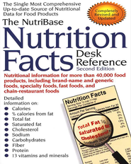 Nutribase Nutrition Facts Desk Reference   -     By: Art Ulene