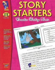Story Starters Gr. 4-6 - PDF Download  [Download] -