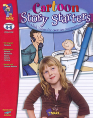 Cartoon Story Starters Gr. 4-6 - PDF Download  [Download] -