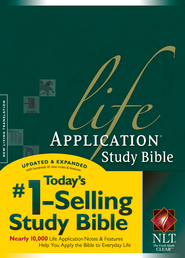 NLT Life Application Study Bible, Hardcover, Thumb-Indexed   -