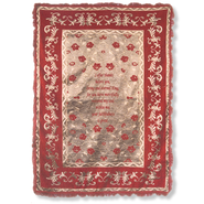Great Faithfulness--Chenille Prayer Throw   -
