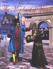 Easy Reading Shakespeare, Level 3: The Merchant of Venice   -              By: William Shakespeare