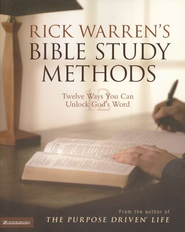 Rick Warren's Bible Study Methods: Twelve Ways You Can Unlock God's Word - eBook  -     By: Rick Warren