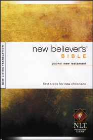 NLT New Believer's Bible, Pocket NT, Softcover  -
