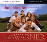 First Things First Audiobook on CD  -              By: Kurt Warner, Brenda Warner