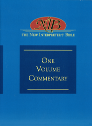 The New Interpreter's One-Volume Commentary on the Bible  -              Edited By: David L. Petersen, Beverly Roberts Gaventa                   By: Edited by David L. Petersen & Beverly Roberts Gaventa