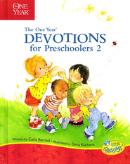 The One-Year Devotions for Preschoolers #2   -     By: Carla Barnhill, Elena Kucharik