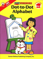 Dot-to-Dot Alphabet   -     By: Homeschool