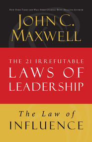 Law 2: The Law of Influence - eBook  -     By: John Maxwell