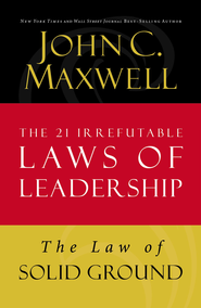 Law 6: The Law of Solid Ground - eBook  -     By: John Maxwell