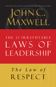 Law 7: The Law of Respect - eBook  -     By: John Maxwell