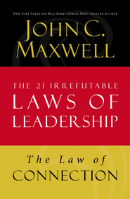 Law 10: The Law of Connection - eBook  -     By: John Maxwell