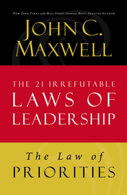 Law 17: The Law of Priorities - eBook  -     By: John Maxwell