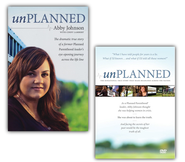 Unplanned Book & DVD bundle   -
