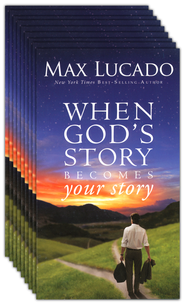 God's Story, Your Story, Christmas Booklet, 25 Pack   -     By: Max Lucado