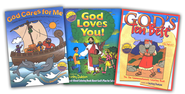 Shirley Dobson Coloring Book 3-Pack   -