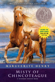 Misty of Chincoteague - eBook  -     By: Marguerite Henry