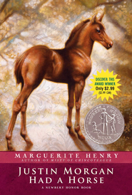 Justin Morgan Had a Horse - eBook  -     By: Marguerite Henry