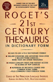 Roget's 21st Century Thesaurus, Third Edition  -     By: Barbara Ann Kipfer