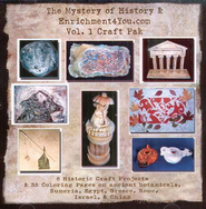 The Mystery of History & Enrichment4You.com, Volume 1 Craft Pak on CD-ROM  -