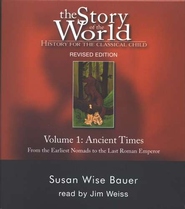 7 CD Audio Set Vol. 1: The Ancient Times, Story of the World   -     By: Susan Wise Bauer